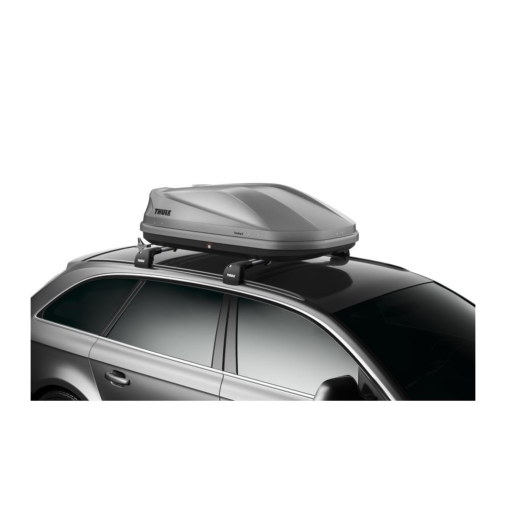 Μπαγκαζιέρα Οροφής Αυτοκινήτου Thule Touring S 100 - 330 lt  Χρώμα Γκρί Μάτ
