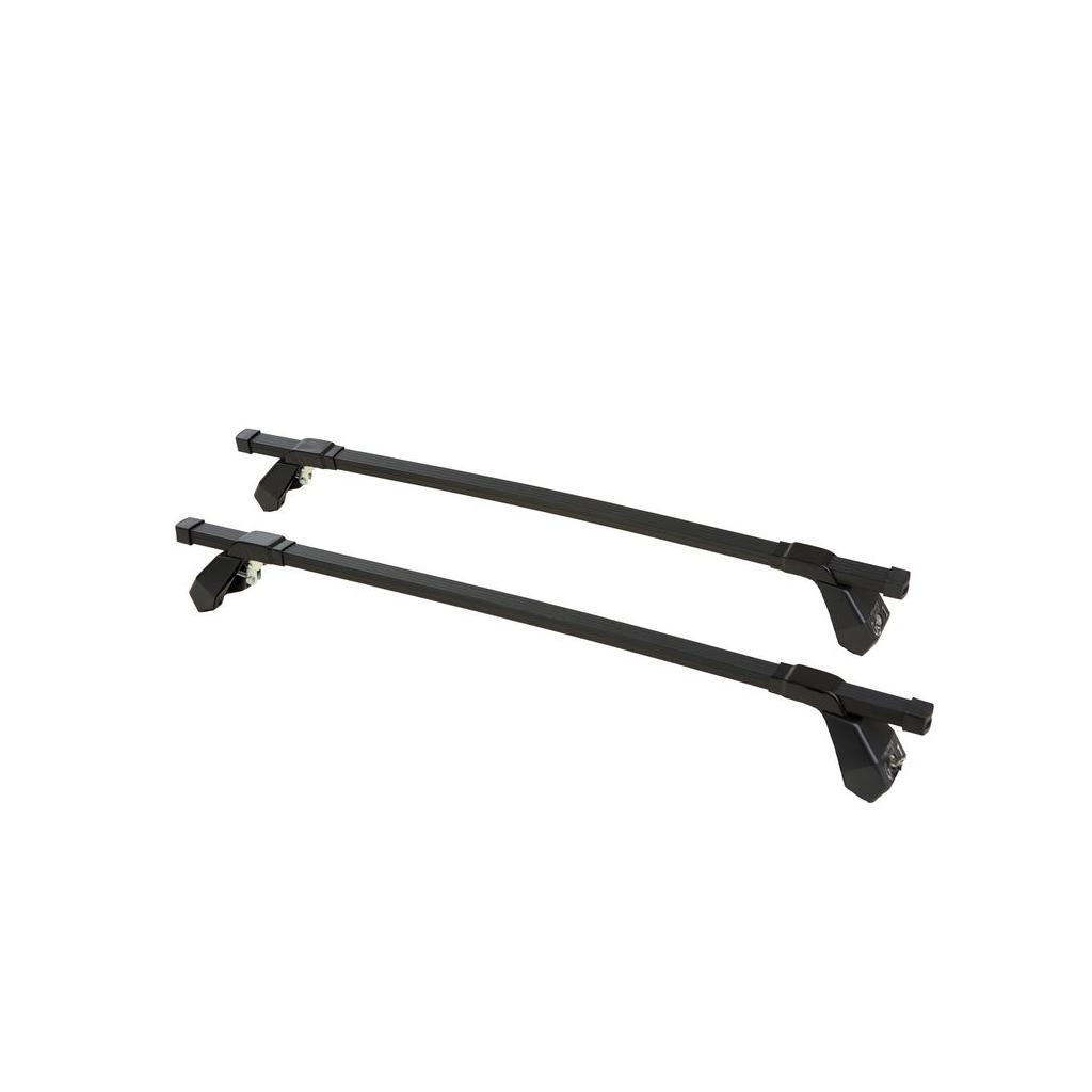 Μπάρες Οροφής Αυτοκινήτου Hermes GS1 110cm Set (KIT 550) Μεταλλικές Μαύρες