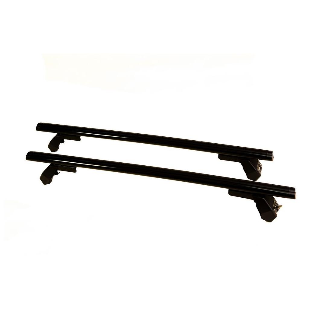 Μπάρες Οροφής Αυτοκινήτου Hermes GS3AM 110cm Set (KIT S680) Αλουμινίου Μαύρες