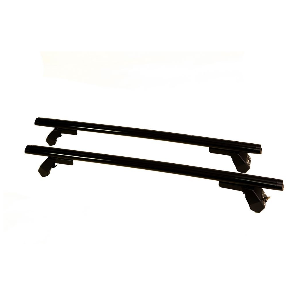 Μπάρες Οροφής Αυτοκινήτου Hermes GS3AM 110cm Set (KIT S3020) Αλουμινίου Μαύρες