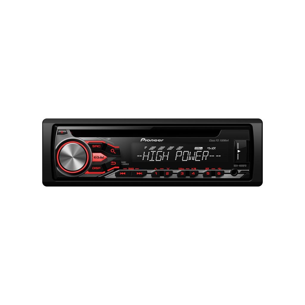 Ράδιο Cd Mp3 Usb Αυτοκινήτου Pioneer DEH-4800FD
