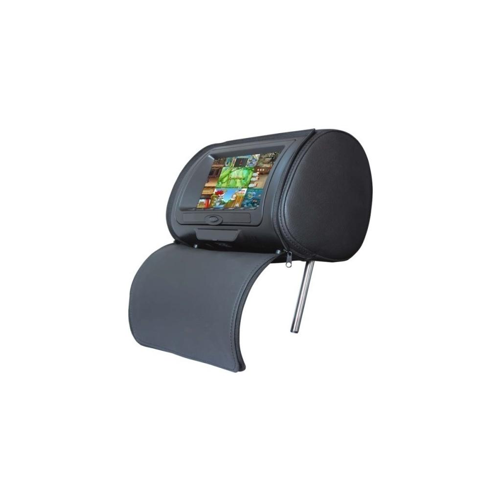 """Προσκέφαλο Αυτοκινήτου LM HR 968 BLACK LCD 7""""με Μόνιτορ"""