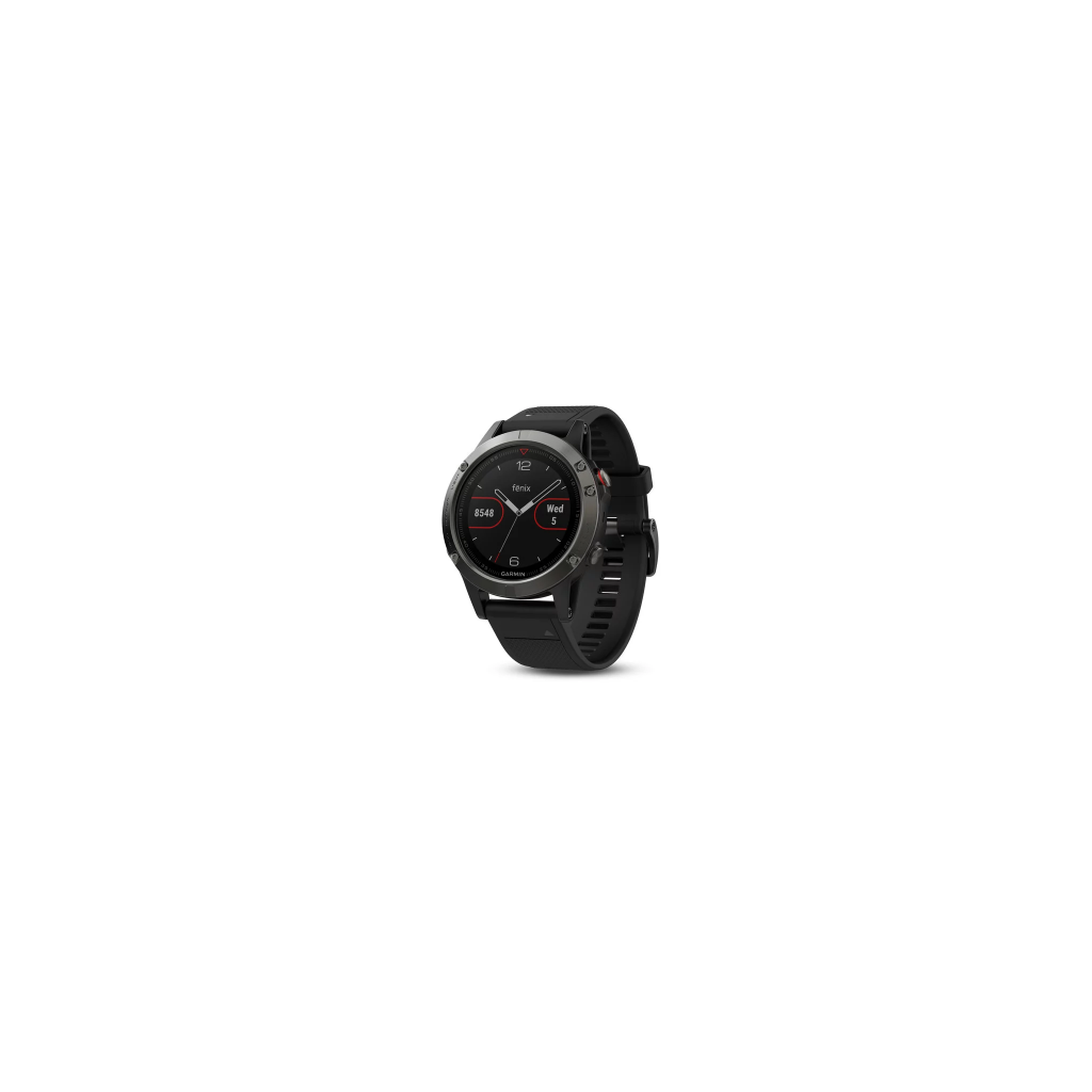 Garmin Fenix 5 Code.GA-010-01688-00 Black Band (Slate Grey)