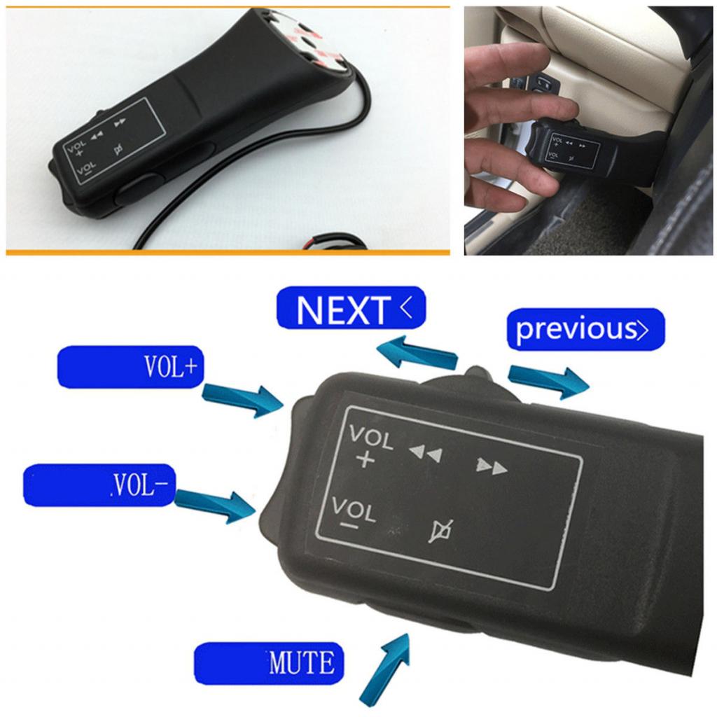 Τηλεχειριστήριο Τιμονιού Αυτοκινήτου για Οθόνες με Android  Wince Car Multimedia Player