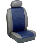 Πλήρες Σετ Καλύμματα Καθισμάτων Αυτοκινήτου από Δερματίνη D Χρώματος Μπλέ-Γκρί