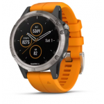 Garmin Fenix 5 Plus Code.GA-010-01988-05 Orange Band (Sapphire Titanium)