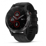Garmin Fenix 5s Plus Code.GA-010-01987-03 Black Band (Sapphire Black)