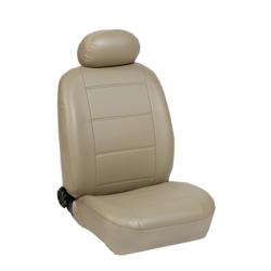Πλήρες Σετ Καλύμματα Καθισμάτων Αυτοκινήτου από Δερματίνη D Χρώματος Μπέζ