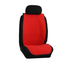 Πλατοκαθίσματα Αυτοκινήτου Πετσέτα Χρώματος Κόκκινο Τεμάχια Δύο