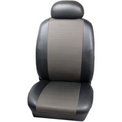 Πλήρες Σετ Καλύμματα Καθισμάτων Αυτοκινήτου από Ύφασμα Σειρά Κ' Χρώματος Ανθρακί-Μαύρο