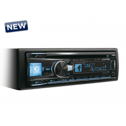 Ράδιο CD/MP3/USB/BT Alpine CDE-195BT