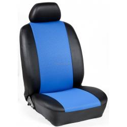 Πλήρες Σετ Καλύμματα Καθισμάτων Αυτοκινήτου από Ύφασμα Σειρά Κ' Χρώματος Μπλέ-Μαύρο