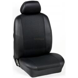Πλήρες Σετ Καλύμματα Καθισμάτων Αυτοκινήτου από Ύφασμα Σειρά Κ' Χρώματος Μαύρο