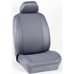 Πλήρες Σετ Καλύμματα Καθισμάτων Αυτοκινήτου από Ύφασμα Σειρά Κ' Χρώματος Γκρί