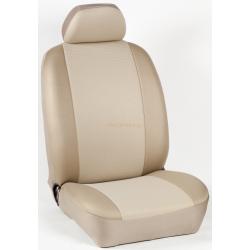 Πλήρες Σετ Καλύμματα Καθισμάτων Αυτοκινήτου από Ύφασμα Σειρά Κ' Χρώματος Μπέζ