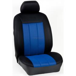 Πλήρες Σετ Καλύμματα Καθισμάτων Αυτοκινήτου Τρυπητά Αεριζόμενα R' Χρώματος Μπλέ Ρουά-Μαύρο