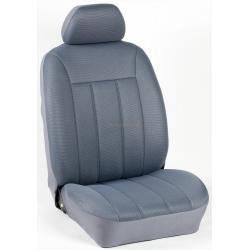 Πλήρες Σετ Καλύμματα Καθισμάτων Αυτοκινήτου Τρυπητά Αεριζόμενα R' Χρώματος Γκρί Πάγου