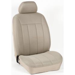 Πλήρες Σετ Καλύμματα Καθισμάτων Αυτοκινήτου Τρυπητά Αεριζόμενα R' Χρώματος Μπέζ