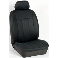 Πλήρες Σετ Καλύμματα Καθισμάτων Αυτοκινήτου Τρυπητά Αεριζόμενα R' Χρώματος Μαύρο