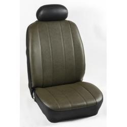 Πλήρες Σετ Καλύμματα Καθισμάτων Αυτοκινήτου από Ενισχυμένη Δερματίνη Χ'' Χρώματος Λαδί