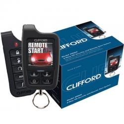 Συναγερμός Αυτοκινήτου με Εκκίνηση Κινητήρα Clifford 5906X Responder HD