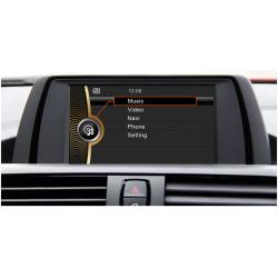 Ειδική Οθόνη OEM Αυτοκινήτου DYNAVIN DVN-F20 GPS 2DIN για BMW Series 1 mod. 2012-2014