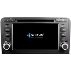 Ειδική Οθόνη OEM Αυτοκινήτου DYNAVIN N7-A3 GPS 2DIN για Audi A3 mod. 2003 - 2012