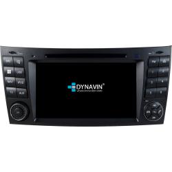 Ειδική Οθόνη OEM Αυτοκινήτου DYNAVIN N7-MBE GPS 2DIN για Mercedes CLS Class (W219) '06-'11 και E-Class (W211) '02-'09