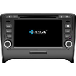 Ειδική Οθόνη OEM Αυτοκινήτου DYNAVIN N7-TT GPS 2DIN για AUDI TT (8J) 2006>