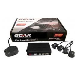 Αισθητήρες Παρκαρίσματος Αυτοκινήτου Gear PS1000B 4 Sensors Χρώμα Μαύρο