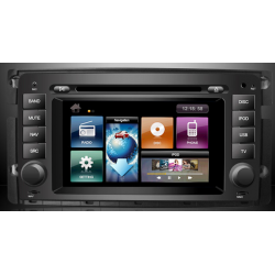 Ειδική Οθόνη OEM Αυτοκινήτου DYNAVIN D99 DVN-SM2  GPS 2DIN για Smart FORTWO mod. 2007 - 2011