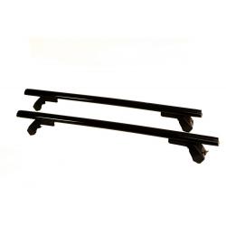 Μπάρες Οροφής Αυτοκινήτου Hermes GS3AM 110cm Set (KIT S1720) Αλουμινίου Μαύρες