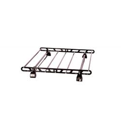 Σχάρα Οροφής Αυτοκινήτου Hermes SGS1 Set (KIT S1990) Μεταλλική Μαύρη