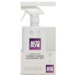 Autoglym Cabrio Fabric Hood Protector Κιτ Καθαρισμού Αδιαβροχοποίησης Κουκούλας Cabrio 2x500ML