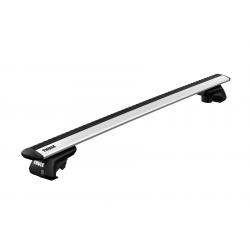 Μπάρες Οροφής Αυτοκινήτου Thule Evo Wing Bar Αλουμινίου (SET) 710400 / 711400 (135cm)