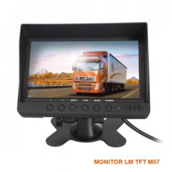 Monitor 7 Inches TFT με Βάση για κάμερα οπισθοπορείας LM Model: M07