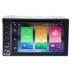 Συσκευή Multimedia 2 DIN LM Model: LM J822 GPS (DVD)