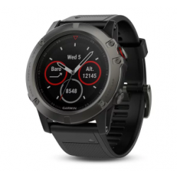 Garmin Fenix 5s Code.GA-010-01685-11 Carrara Black Band (Sapphire Slate Grey)