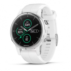 Garmin Fenix 5s Plus Code.GA-010-01987-01 White Band (Sapphire White)