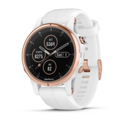 Garmin Fenix 5s Plus Code.GA-010-01987-07 White Band (White Rose Gold)