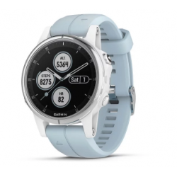 Garmin Fenix 5s Plus Code.GA-010-01987-23 Sea Foam Band (Glass White)