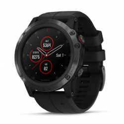 Garmin Fenix 5x Plus Code.GA-010-01989-01 Black Band (Sapphire Black)