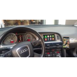 Ασύρματο Apple Car Play/Android Auto Interface (GPS MMI) για Audi A6/Q7 2009-2016