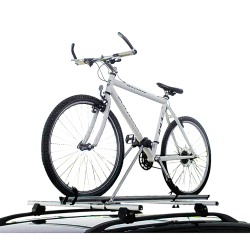 Βάση Ποδηλάτου Οροφής Αυτοκινήτου Fabbri Bici 2000 ALU Αλουμινίου Ασημί (1 Ποδήλατο)