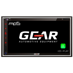 Συσκευή Multimedia 2 DIN / Gear GR-AV55BT (Deck)