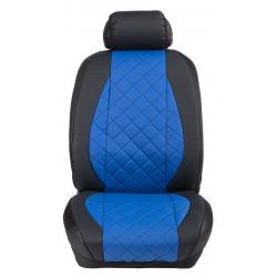 Ημικαλύμματα Εμπρόσθιων Καθισμάτων Αυτοκινήτου Δερματίνη Καπιτονέ HMD-F14 2τμχ