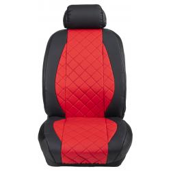 Ημικαλύμματα Εμπρόσθιων Καθισμάτων Αυτοκινήτου Δερματίνη Καπιτονέ HMD-F24 2τμχ