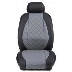 Ημικαλύμματα Εμπρόσθιων Καθισμάτων Αυτοκινήτου Δερματίνη Καπιτονέ HMD-F54 2τμχ