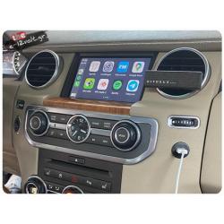 Αναβάθμιση Εργοστασιακής Οθόνης για Range Rover Sports Navinc CarPlay LR-GV2